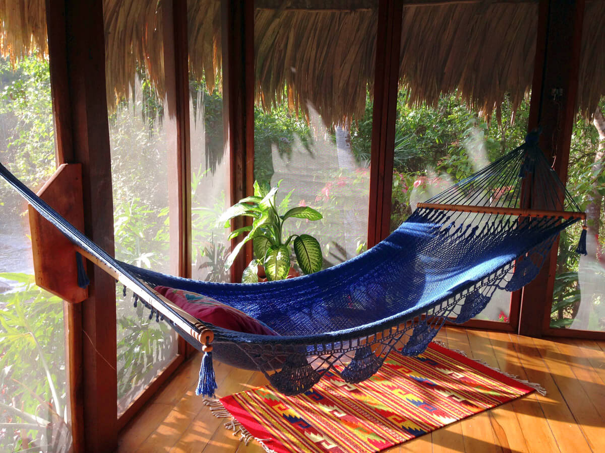 hammock on screened porch off of bedroom hammock on screened